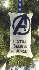 Avengers Christmas Decoration...you can get it from Etsy here.