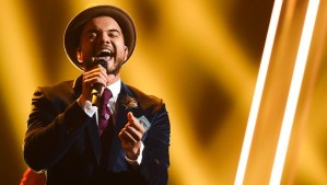 Guy Sebastian rocking Vienna at Eurovision 2015
