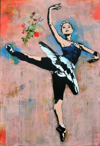 "Blek le Rat's ""Ballerina"""