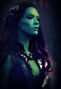 Gamora: it's OK to be green.