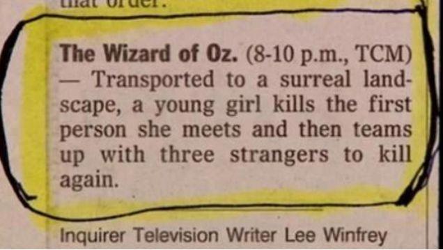 Oz Plot