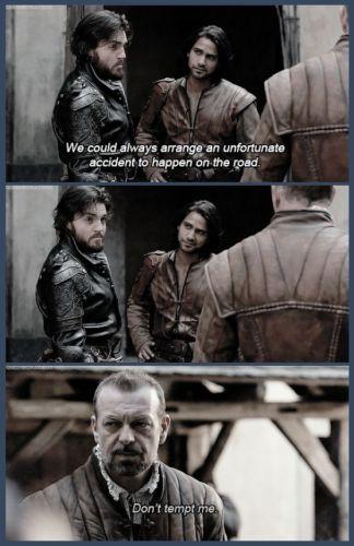 Athos & D'Artagnan