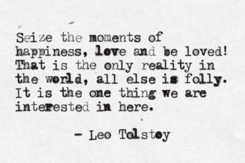 WP Tolstoy quote