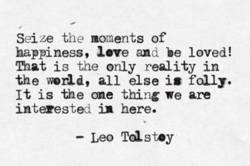 WP Tolstoy quote